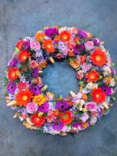 Bouquet de fleur L'Orbrie fleuriste créateur Fleurs d'Autize