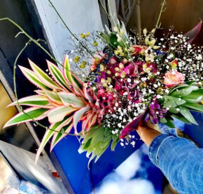 Commande bouquets Le Pradet artisan fleuriste Atelier Serre