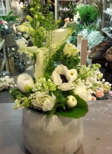 Faire livrer fleur bouquet Barbery artisan fleuriste Maison Douce