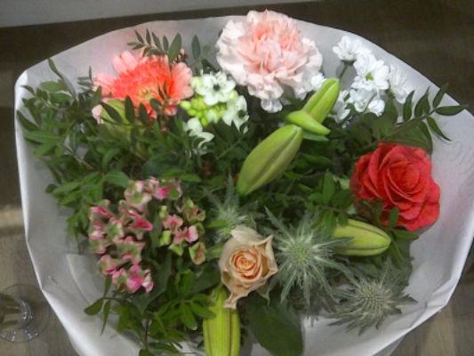 Envoi de composition florale Nanthiat fleuriste Labeylie Fleurs