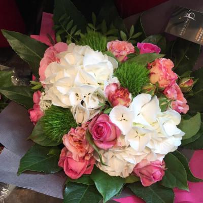 Envoyer bouquet de fleurs Villeneuve-D'Ascq artisan fleuriste Barbotine