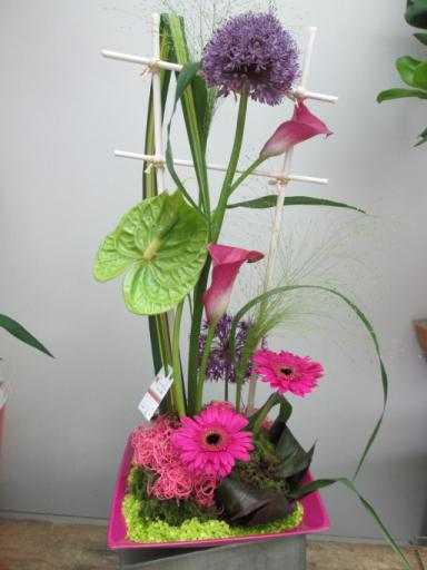 Offrir bouquet sur mesure Menomblet  L'Orchidée
