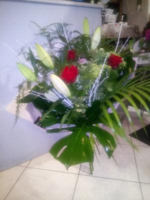 Bouquet fleur Montigny-Aux-Amognes fleuriste créateur Rêveries Bucoliques