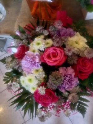 Livrer bouquets de fleur Montigny-Aux-Amognes fleuriste créateur Rêveries Bucoliques