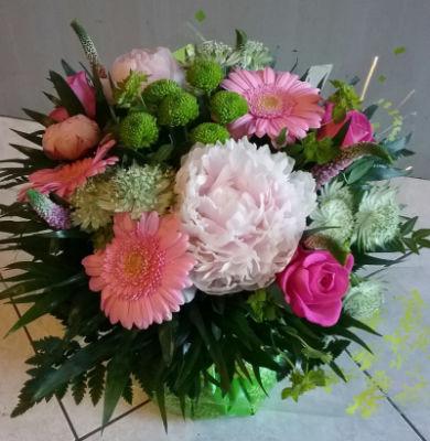 Commande bouquet sur mesure Nevers fleuriste Rêveries Bucoliques
