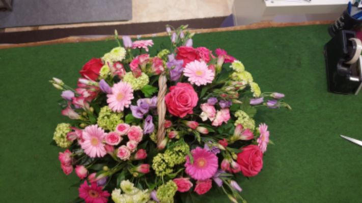 Commander bouquet fleurs Mercurey fleuriste créateur La Hotte Aux Fleurs
