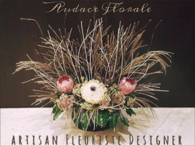 Bouquet de fleur Valbonne artisan fleuriste Audace Florale