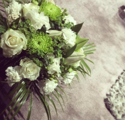 Envoi composition florale Monnerville  Ambiance Florale