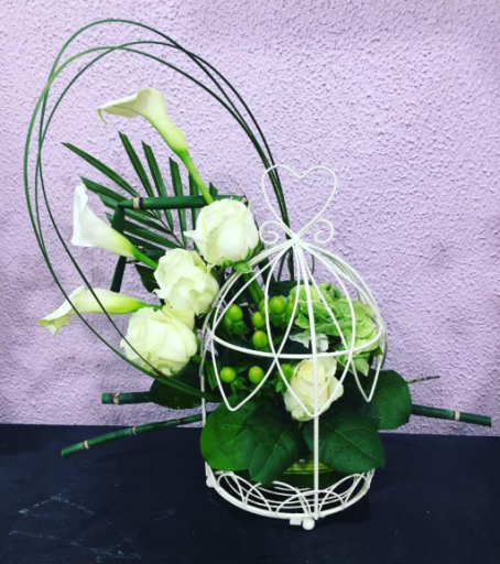 Envoie de bouquet de fleurs Monnerville artisan fleuriste Ambiance Florale