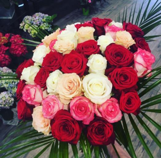 Envoi bouquet de fleurs Mauchamps artisan fleuriste Ambiance Florale