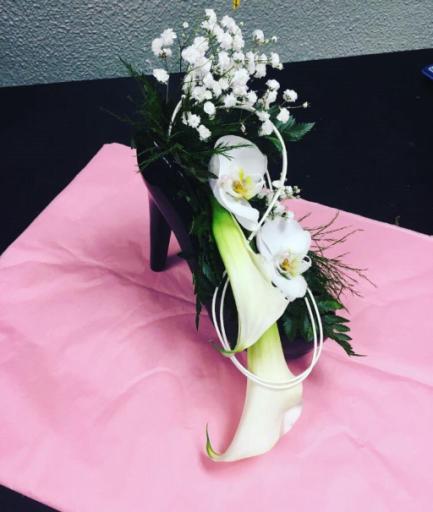 Offrir composition florale Monnerville artisan fleuriste Ambiance Florale