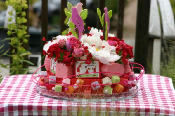 Livrer bouquet de fleur Beddes fleuriste créateur Catherine Joyaux Corselli / fleuriste d'événement