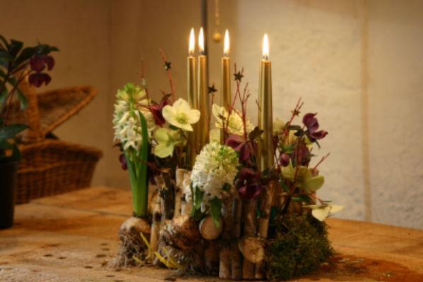 Commande bouquet fleur Beddes fleuriste créateur Catherine Joyaux Corselli / fleuriste d'événement