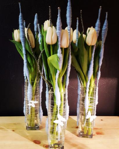 Faire livrer bouquet fleurs Portet-Sur-Garonne fleuriste créateur Gentlemen Artisan Fleuriste