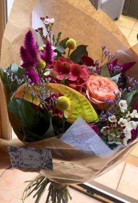 Bouquet fleurs fleuriste Plein Air Designer Floral à Biarritz