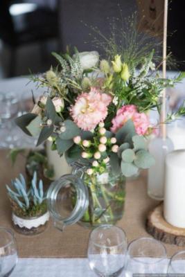 Envoi fleur bouquet Nantes artisan fleuriste Les Jolies Choses