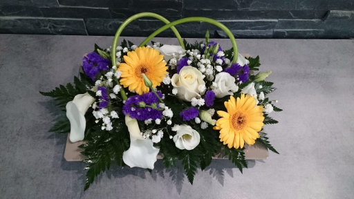 Envoi de bouquet de fleur Mesbrecourt-Richecourt artisan fleuriste Les Fleurs de Julie