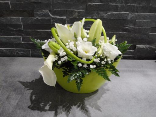 Livraisons de bouquets fleur Marest-Dampcourt fleuriste créateur Les Fleurs de Julie