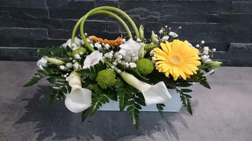 Livrer bouquet fleurs Mesbrecourt-Richecourt fleuriste Les Fleurs de Julie