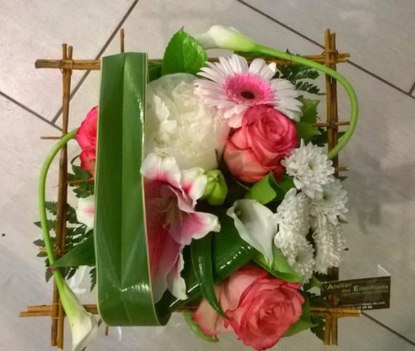 Commander bouquet Marcon fleuriste créateur L'Atelier des Emotions
