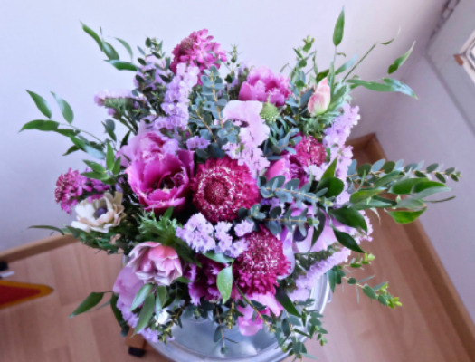 Commande bouquet sur mesure Nice fleuriste Tepee Sauvage