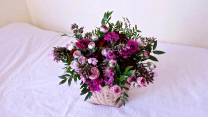 Livraison de bouquet sur mesure Nice artisan fleuriste Tepee Sauvage