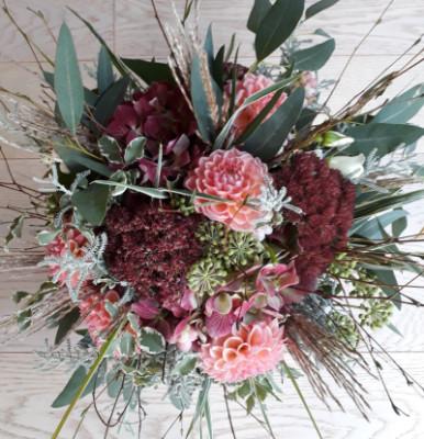 Bouquet de fleur Tremeven  Akène Fleuriste Créatrice