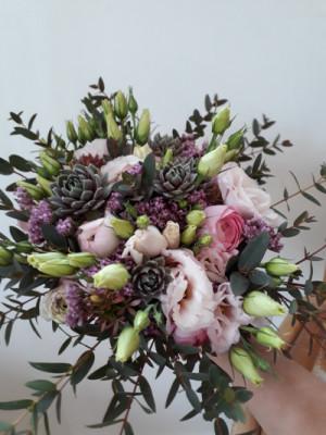Bouquet fleur Tremeven fleuriste Akène Fleuriste Créatrice
