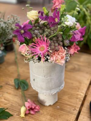 Commande fleur bouquet Mezeray  Les Oeillets d'Amour