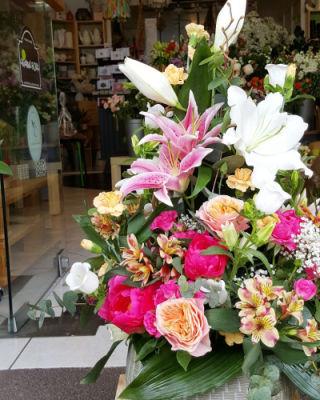 Envoi bouquet fleurs Mouguerre fleuriste créateur Bouticateliers