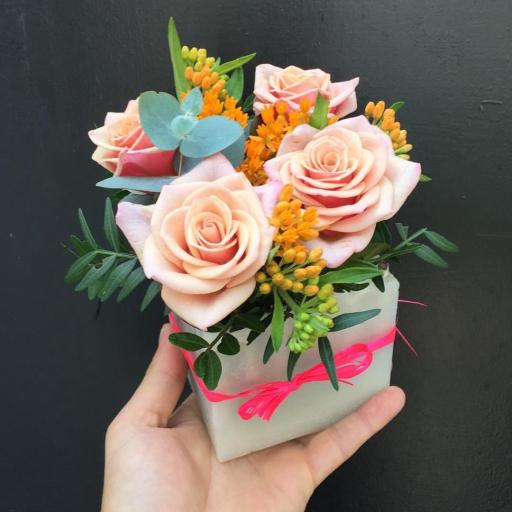 Envoi de bouquets de fleur Bidart artisan fleuriste Plein Air Designer Floral