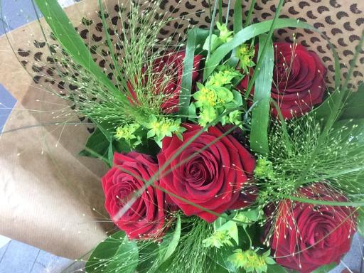 Bouquet fleur Eydoche fleuriste Au Comptoir Floral