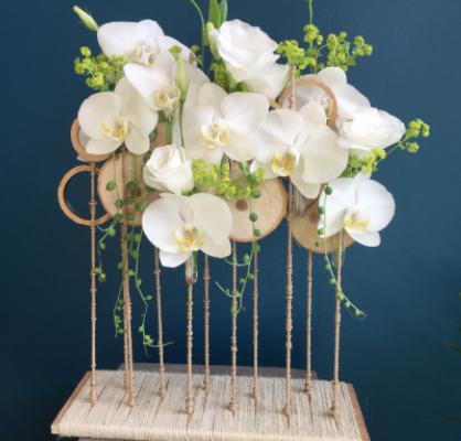 Envoi fleur fleuriste artisan Mademoiselle A. à La Mole