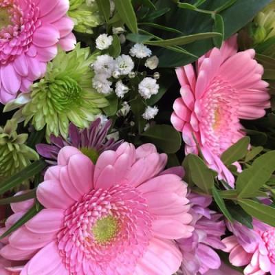 Commander bouquet fleur Montpellier fleuriste Les Jardins de la Fontaine