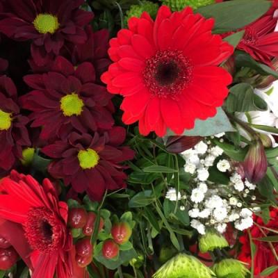 Commander bouquet de fleurs Montpellier fleuriste Les Jardins de la Fontaine