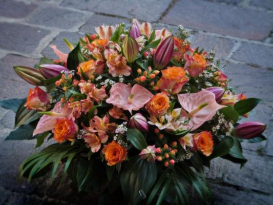 Bouquet sur mesure Moret-Sur-Loing fleuriste Pleione