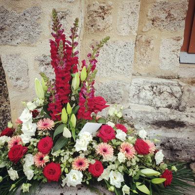 Offrir bouquet fleurs Veneux-Les-Sablons fleuriste créateur Pleione