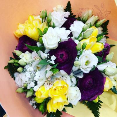 Envoie de bouquet sur mesure Moisselles fleuriste Les Pipelettes Fleuries