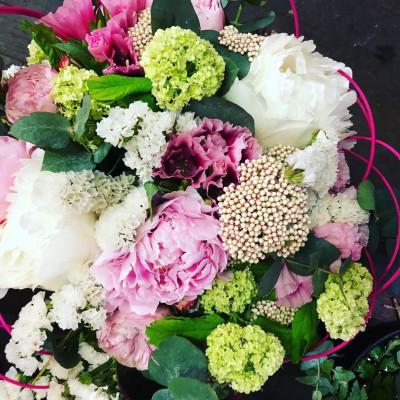 Offrir bouquet fleur Moisselles  Les Pipelettes Fleuries