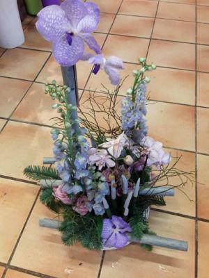 Livrer composition florale Betton  Au Jardin d'Alicante