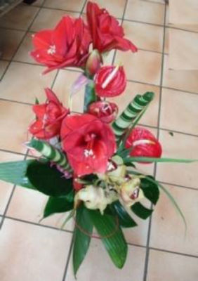 Bouquet sur mesure Betton artisan fleuriste Au Jardin d'Alicante