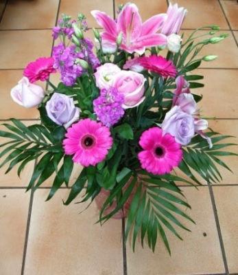Envoyer bouquet de fleur Betton  Au Jardin d'Alicante