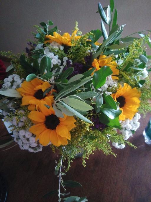 Bouquet fleur Arsac fleuriste créateur SDSQ Créations