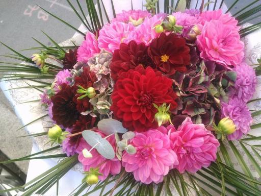 Faire livrer fleur bouquet Merignac fleuriste créateur SDSQ Créations