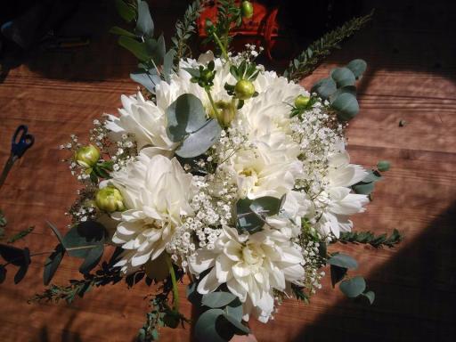 Commander bouquet sur mesure Arsac artisan fleuriste SDSQ Créations