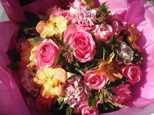 Offrir bouquets Bordeaux artisan fleuriste SDSQ Créations