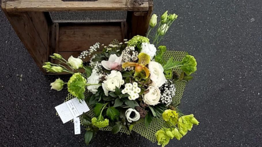 Envoie de fleur bouquet Pompignan artisan fleuriste Rose Bohème