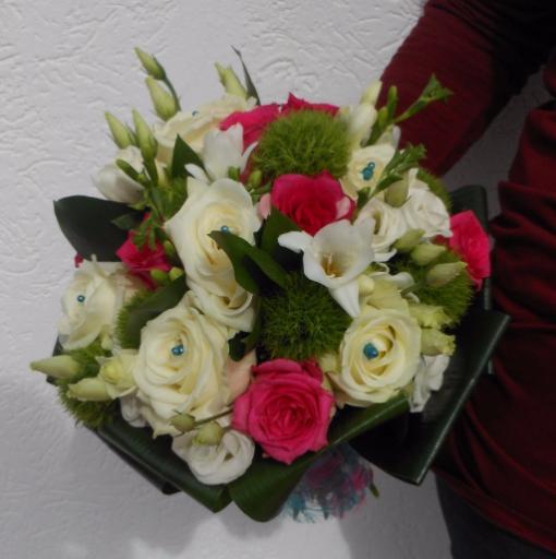 Faire livrer bouquet fleur Saint-Caprais artisan fleuriste A la Magie de Léa