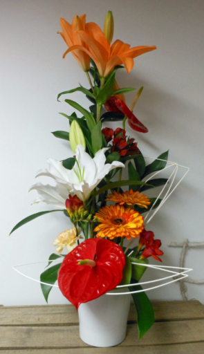 Commande bouquets de fleur Nohant-En-Gout fleuriste créateur A la Magie de Léa