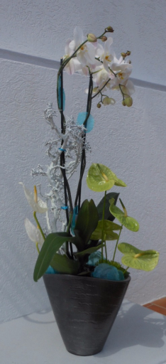 Commander bouquet sur mesure Rians fleuriste créateur A la Magie de Léa